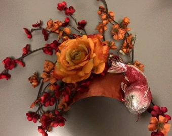 Koi flower headdress - ready to ship!