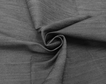 Gray Industry Cotton Denim Fabric for Jeans, Jackets and Dresses by the yard or wholesale denim - 1 Yard 61200
