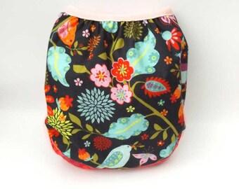 Cloth diaper cover, MilentinBaby handmade cloth diaper, baby clothes, winter