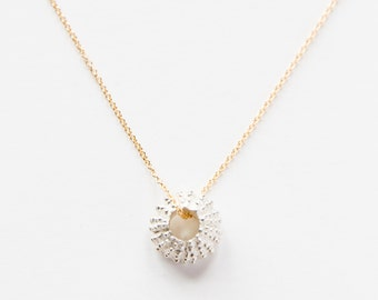 14kt Gold Filled & Sterling Silver Uni Necklace