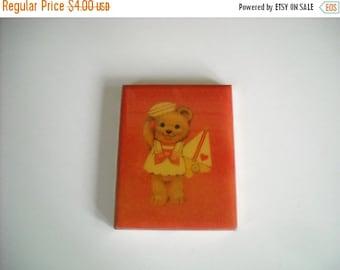 Vintage Hallmark Teddy Bear Picture Holder