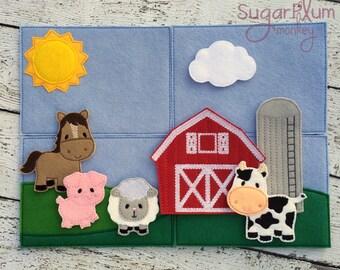 Farm Play Set, Story Board