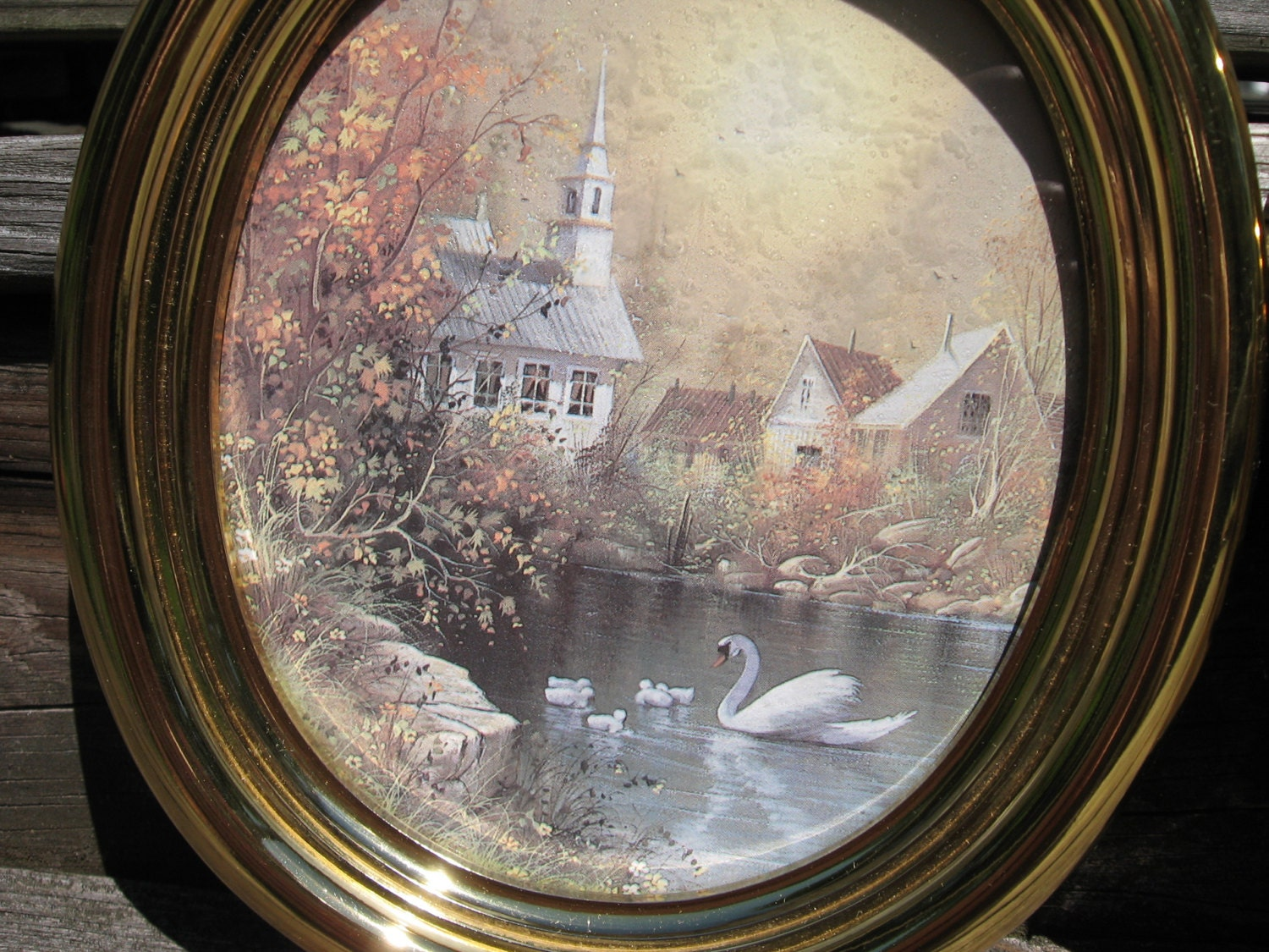 2 home interior homco picture swan church by troutsjunkshop for Home interior website
