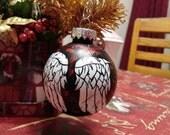 Walking Dead Daryl Dixon Wings Ornament