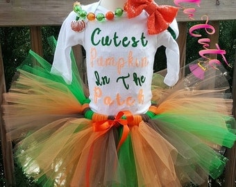Cutest Pumpkin In The Patch Tutu Set