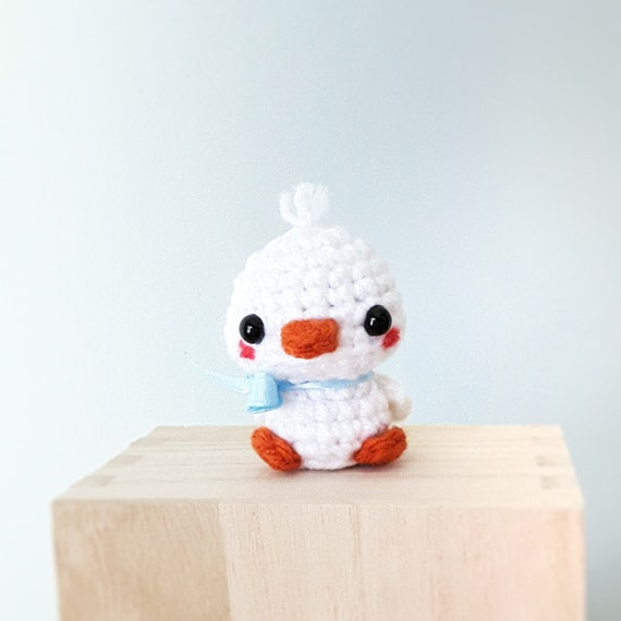 Amigurumi Baby Duck : Amigurumi Baby Duck Crochet Animal Amigurumi plush small