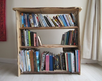 Handmade Wooden Bookcase