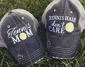 Hats {Tennis hair don't care} {Tennis mom}