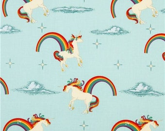 Riley Blake Unicorns and Rainbows fabric