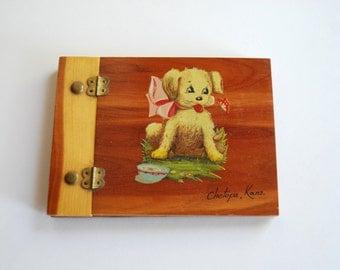 Vintage Autograph Book, Puppy Dog, Kansas