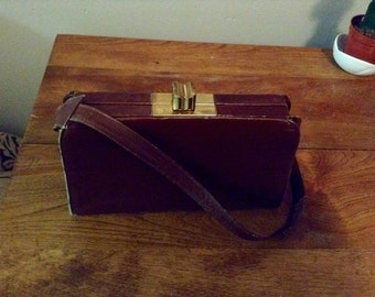 Rare Parino vintage leather bag