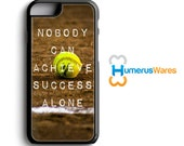 Success Quote Softball Phone Case - iPhone 4,4s,5,5s,5c,6,6plus; Galaxy S3,S4,S5,S6, iPod 4,5 Sports Gifts, Gift for Teen Daughter