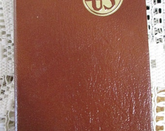 Vintage 1968 U.S.  Electrical Motors DIary - with maps, phone logs, etc. like a day planner - Mint Unusued Condition. Estate find!