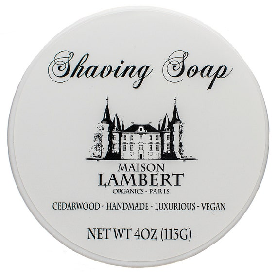 Organic Shaving Soap - Shaving Soap - Shave Soap - Shave Soap - mens soap - mens gift ideas - Vegan soap - mens gifts