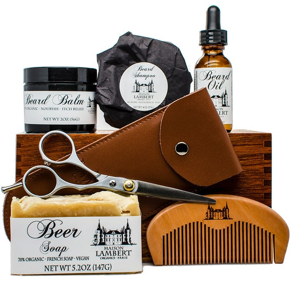 ultimate beard grooming kit beard care kit beard oil. Black Bedroom Furniture Sets. Home Design Ideas