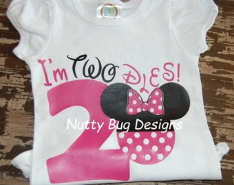 Minnie Mouse 2nd Birthday Shirt