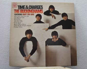 """The Buckinghams - """"Time & Charges"""" vinyl record"""