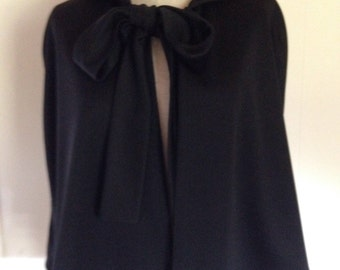 Adult Sith Lord Short And Sassy Black Witch  Cape Cloak