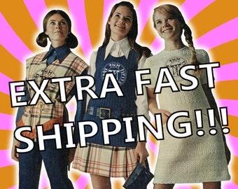 15 Dollar Extra Fast Shipping!!!