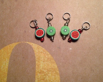 Fruit Stitch Marker Set