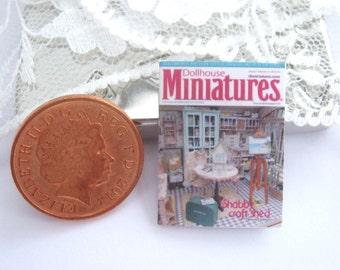 dollhouse magazine   12th scale miniature dollhouse miniatures