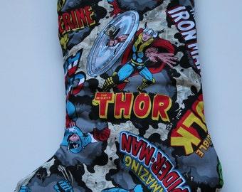 Marvel Comics Stocking