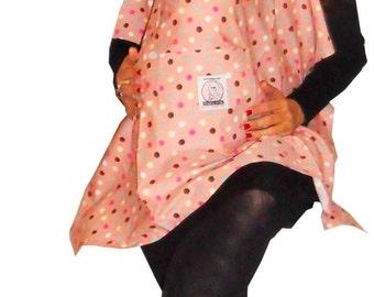 "Nursing Cover ""Maayan"" with dots"