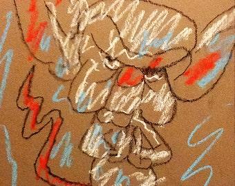 Book Illustration - The Brain