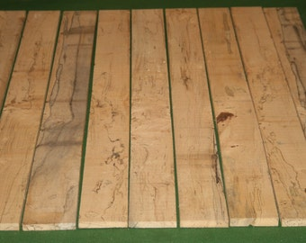 Spalted Boards - 16 pcs. Total - Item #16009