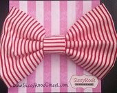 Christmas Hair Bows - Can...
