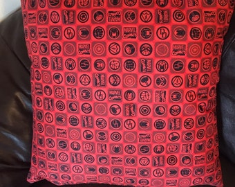 Red Marvel Cushion
