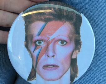 David Bowie Button