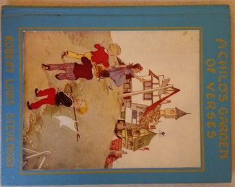 A Child's Garden of Verses, 1929 Robert Louis Stevenson Illustrated by EULALIE, The Platt and Munk Co., Inc.