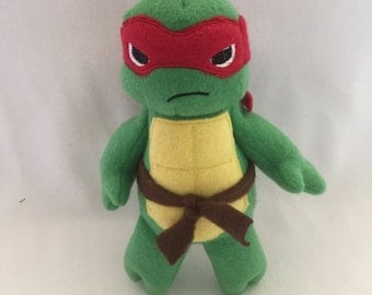 Raphael Teenage Mutant Ninja Turles Large TMNT Plush Plushie Toy