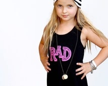 RAD kids tank or fringe dress