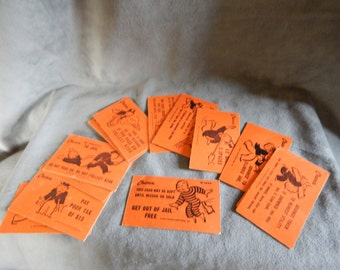 Vintage Monopoly replace Chance Cards