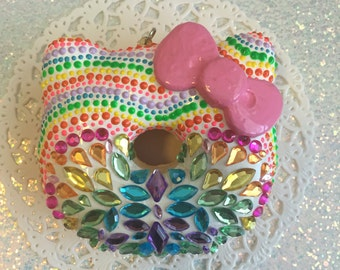 Bling deco donut