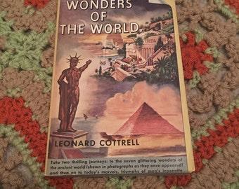 Wonders of the World Vintage Book