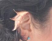 Armor Ear Cuff, Armor Jewelry, Medieval, Hermes, Greek, Non Piercing, Upper Cartilage, Gothic, Steampunk, Greek Cosplay, Elf Ear Cuff