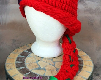 Princess Ariel inspired by The Little Mermaid winter ready hat