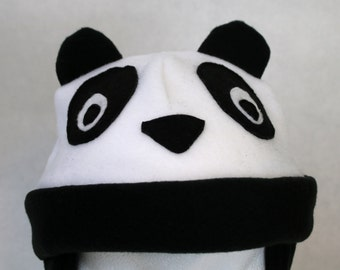 Panda Hat (Baby, Child, and Youth Sizes)