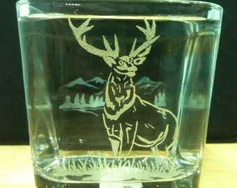 Tumbler etched double sided (Front & Back)