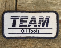 Team Oil Tools Work Shirt Uniform Patch