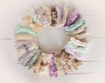 Stuffed Bunnies Photography Props Baby Props Easter Bunnies Shabby Bunnies Photo Props Newborn Props Sitter Props Mint Pink LavenderBunnies
