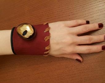 original handmade leather wristband