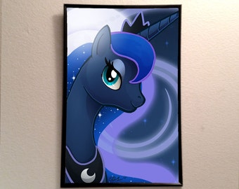 "Princess Luna inspired 11x17"" Poster Print"