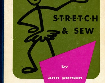 1970's Stretch & Sew Book by Ann Person