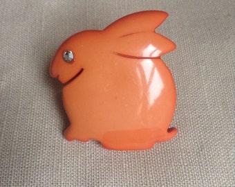"""Isadora """"rabbit""""brooch"""