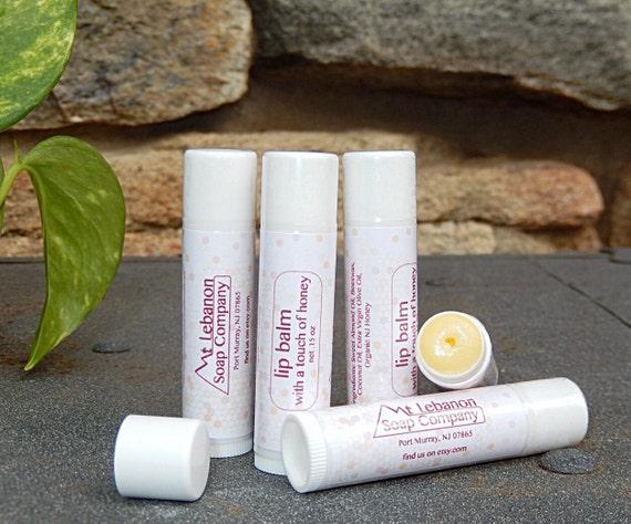 Lip Balm with a touch of Honey - Honey Chapstick - Lip Balm - Honey Lip Balm