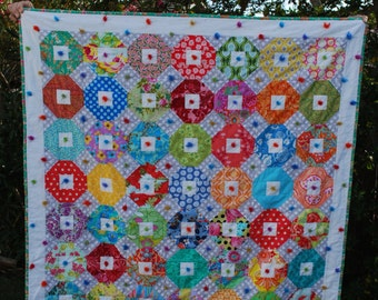 Lap or Baby Wool Tied Quilt